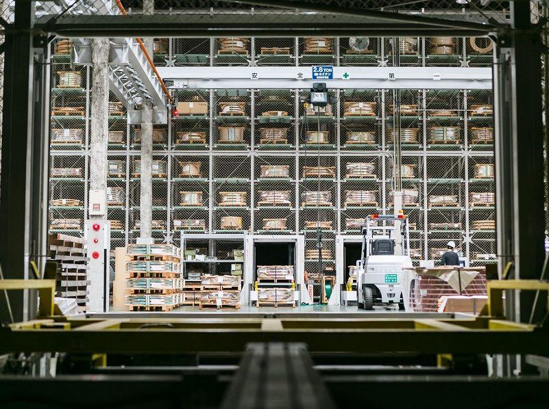 自動倉庫による自動化・省人化